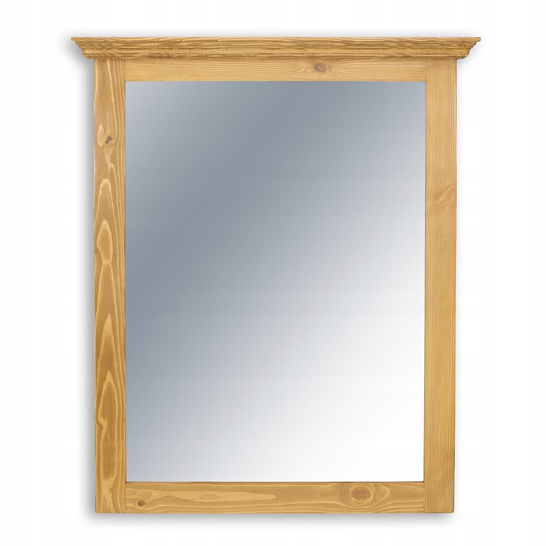 ++zrkadlo rustikálny dreva borovice polyuretánu++