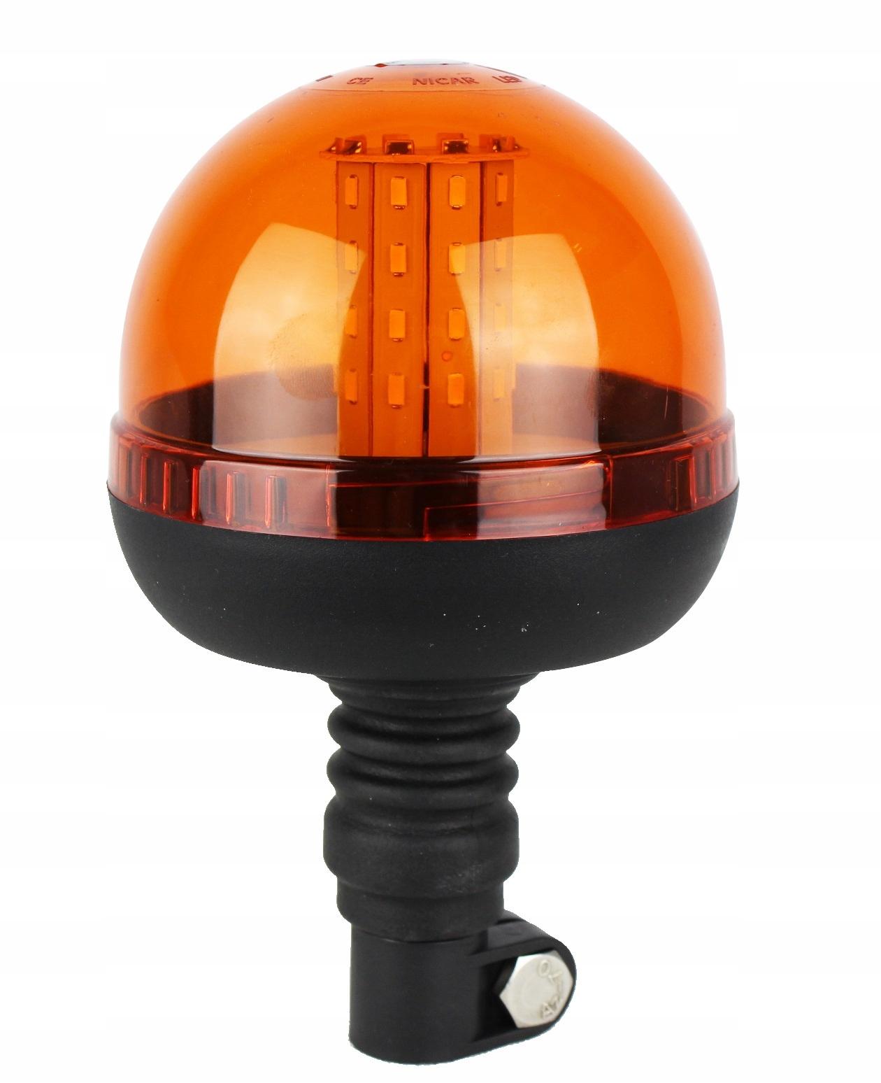 лампа предупреждения 40 led smd петух r10 ce 12v 24v