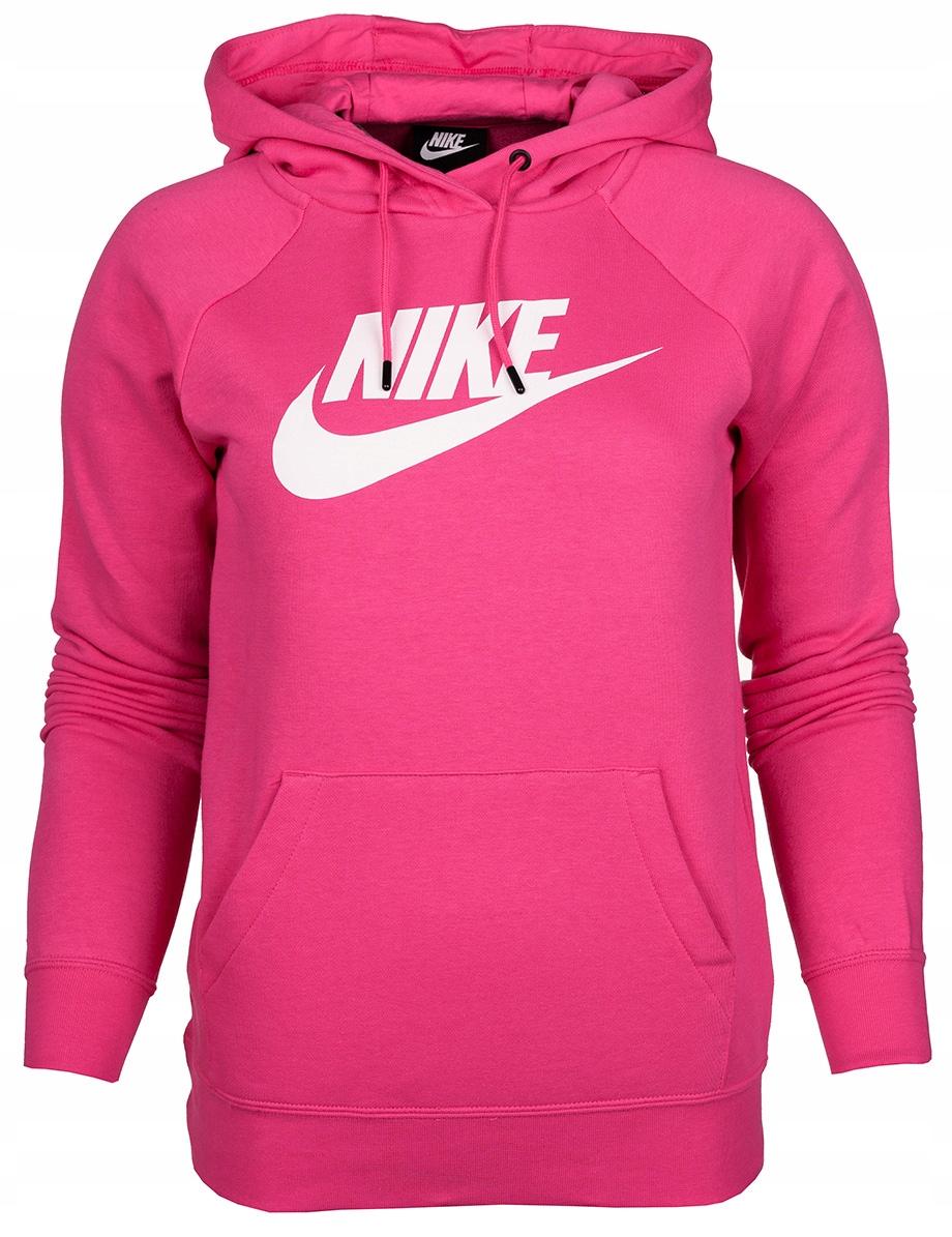 Bluza damska Nike z kapturem dresowa roz.L