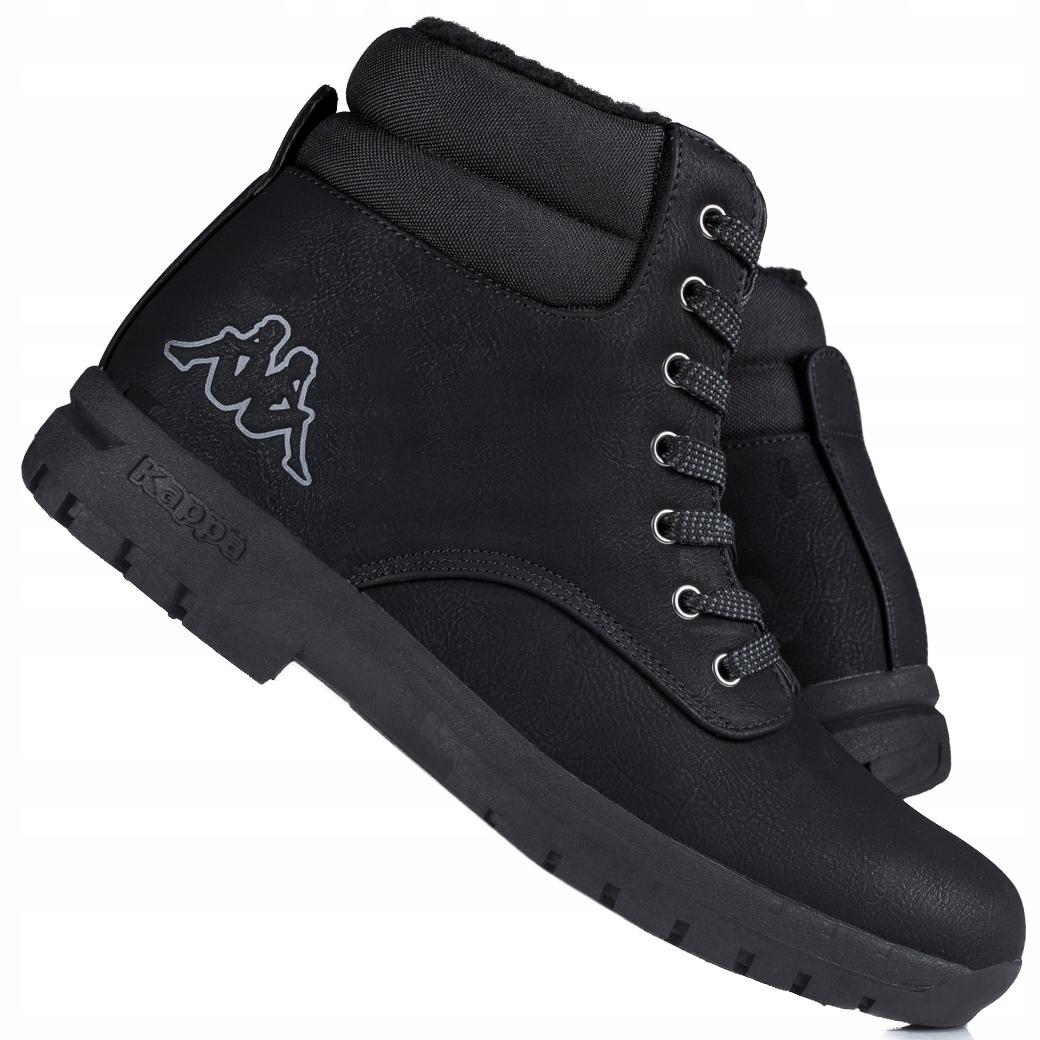 Купить Ботинки мужские, зимние ботинки на толстой рельефной подошве Kappa Woak 242780-1111 на Otpravka - цены и фото - доставка из Польши и стран Европы в Украину.