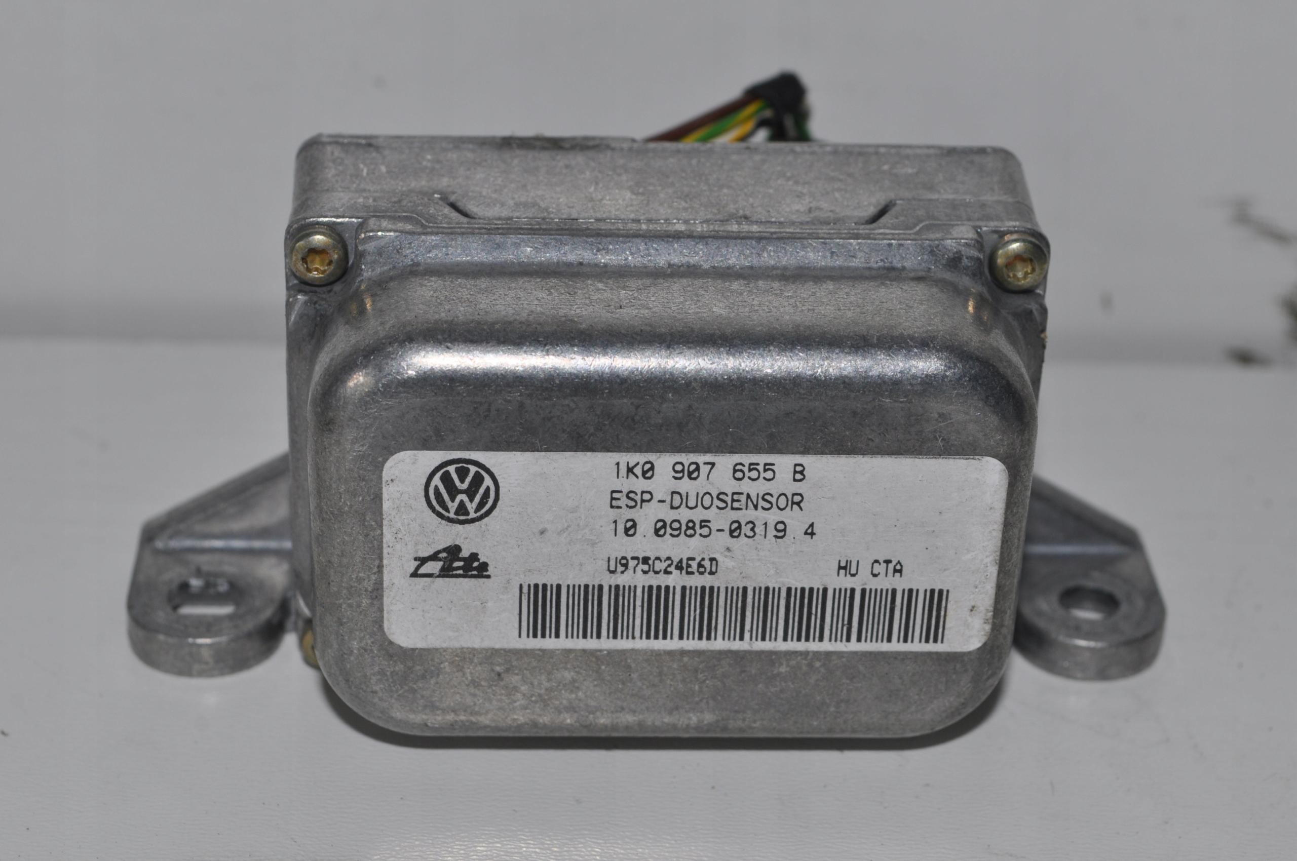 сенсор модуль датчик esp audi vw гольф v 1k0907655b