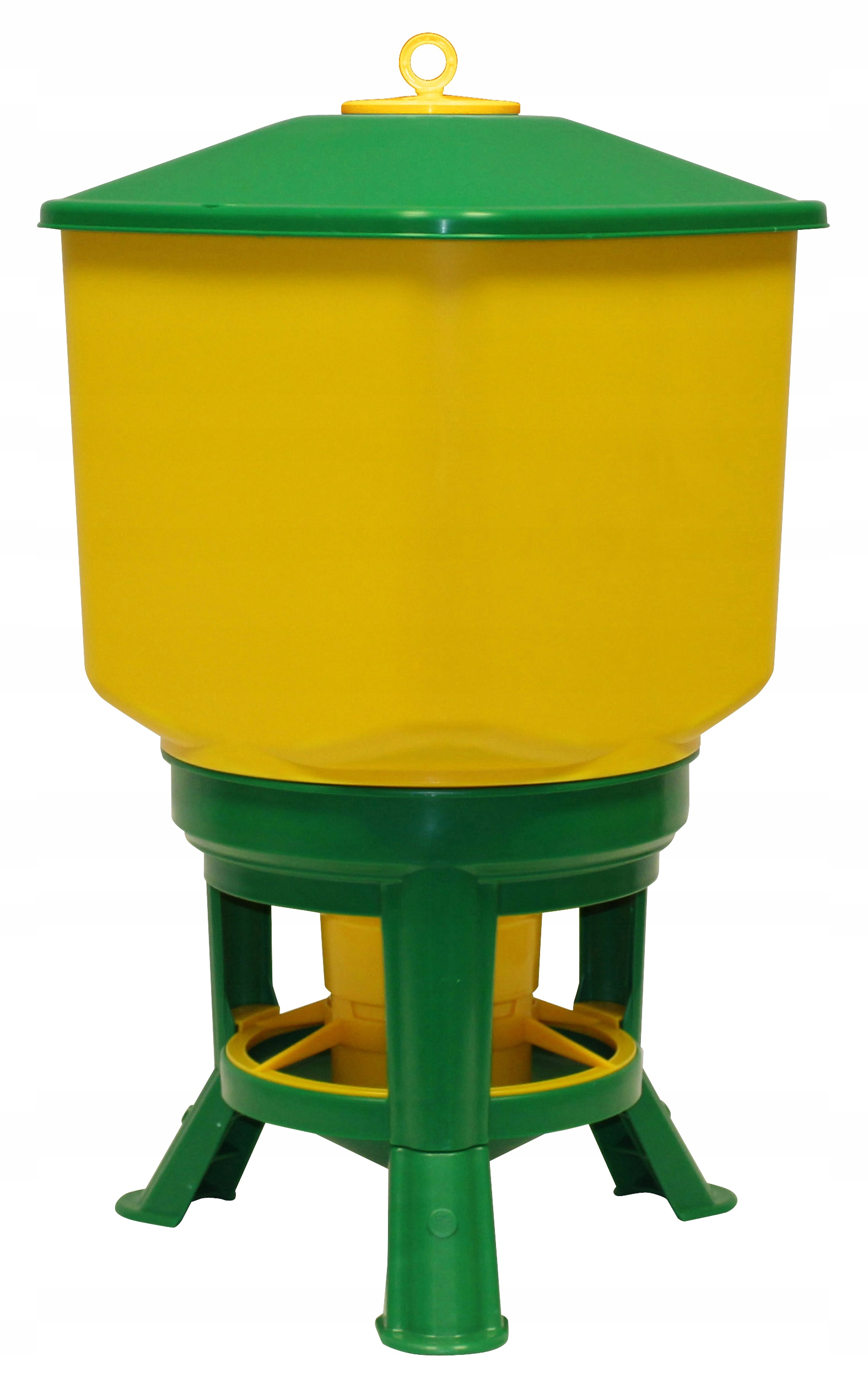 Лоток автоматического 50Л для домашней птицы кур Novital