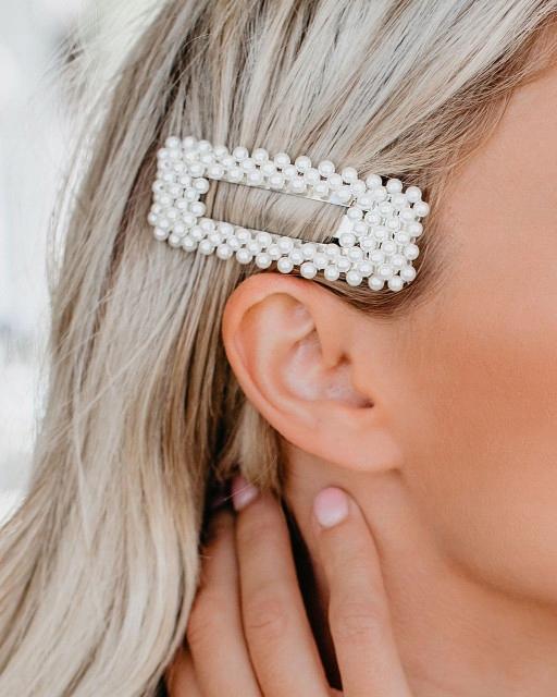 НАБОР заколка заколка для волос серебро драгоценные камни