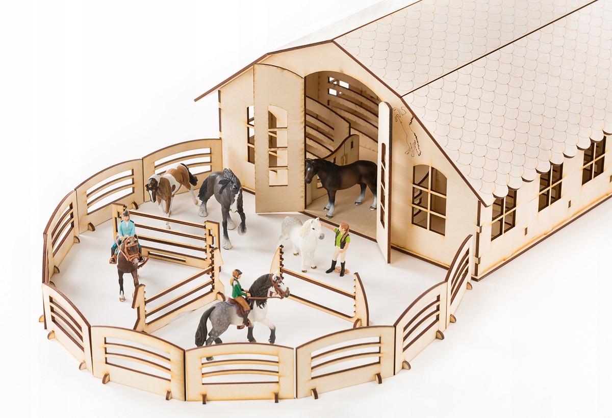 Ola XXL stajňa pre 12 koní Schleich Breyer Collec