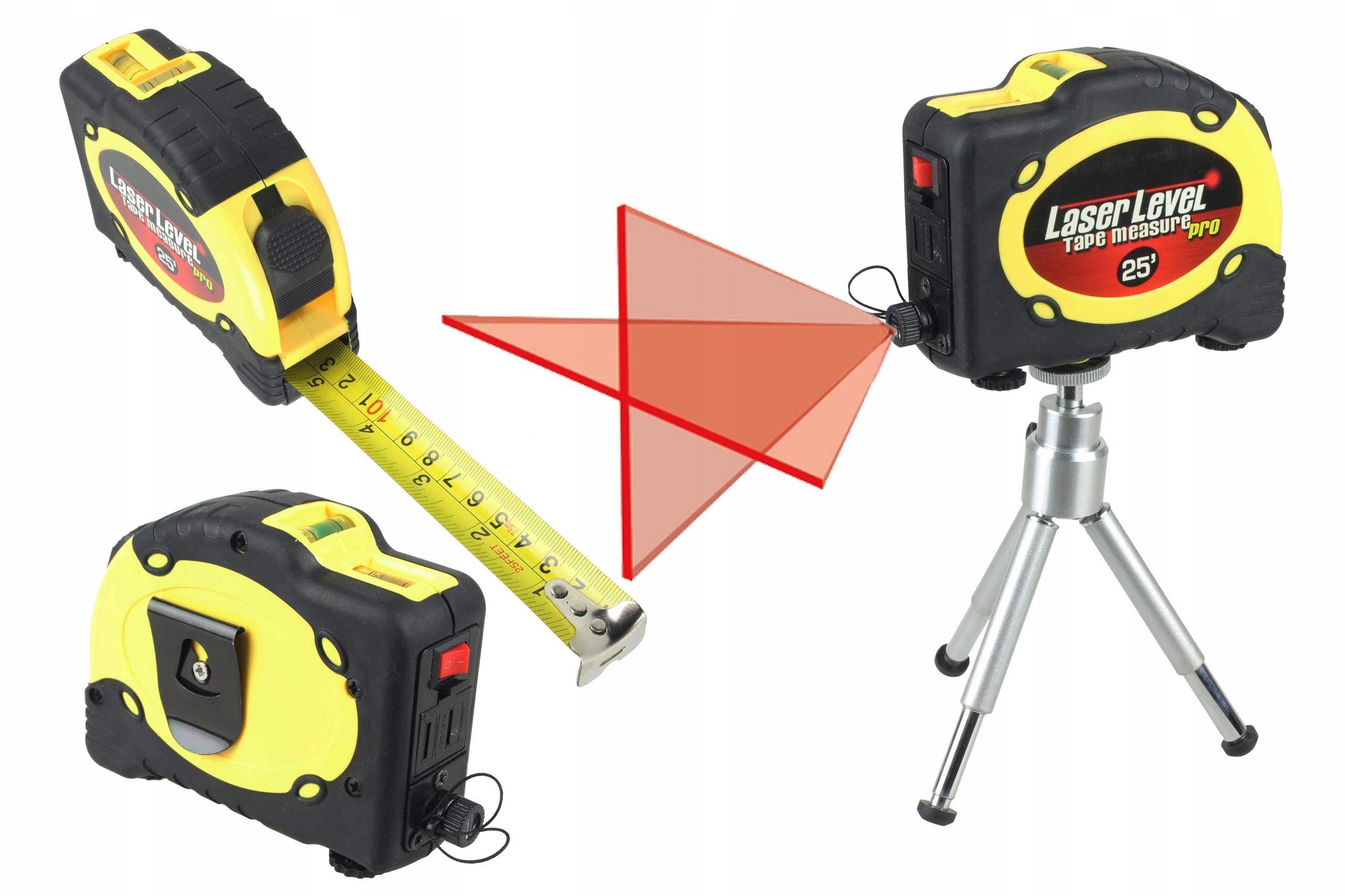 Перекрестный лазерный уровень 2 x лазер + штатив