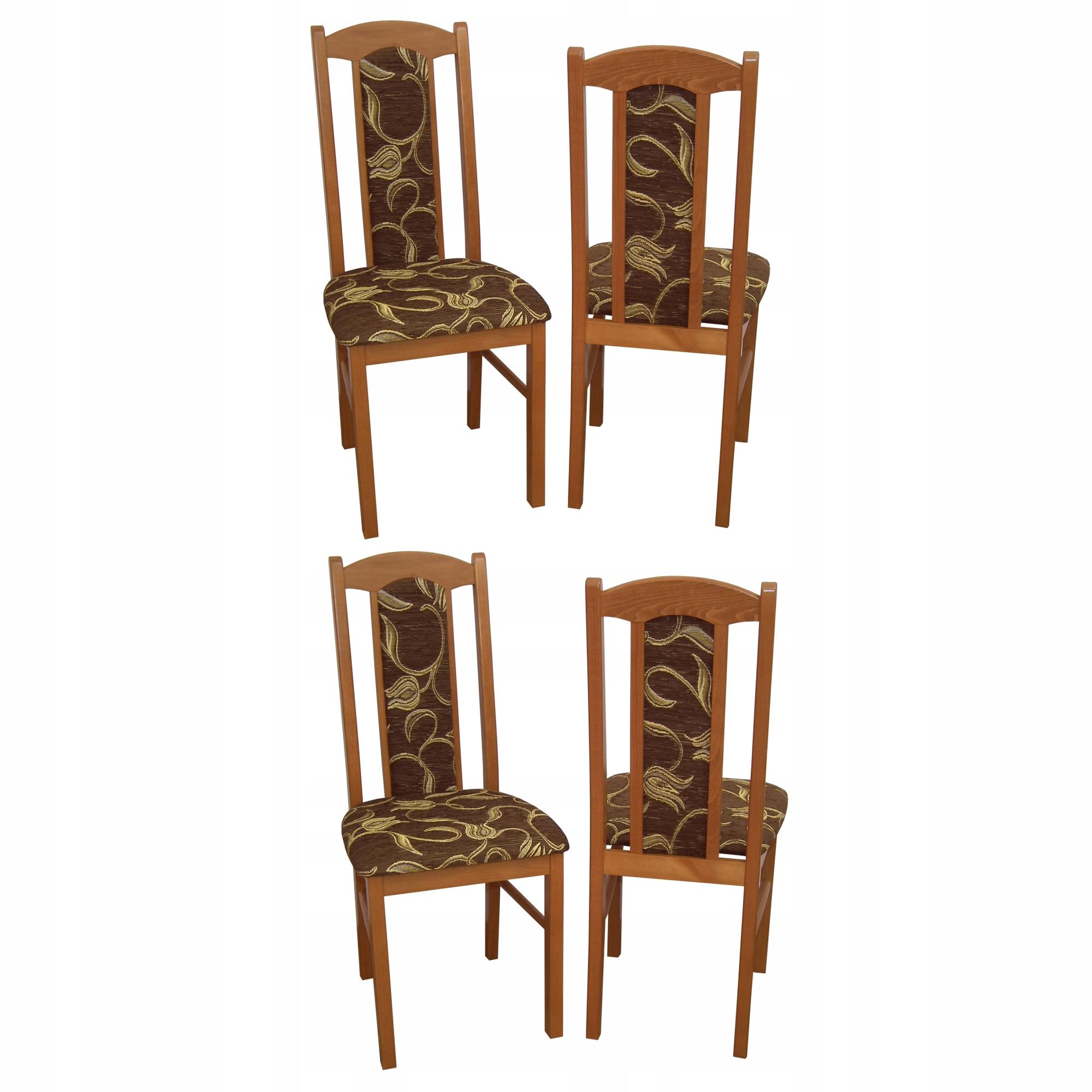 4 stoličky nastavenie stoličky drevené stoličky VEĽKOOBCHOD