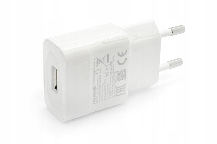 Oryginalna Ładowarka Sieciowa Huawei Usb Y6 P8 P9