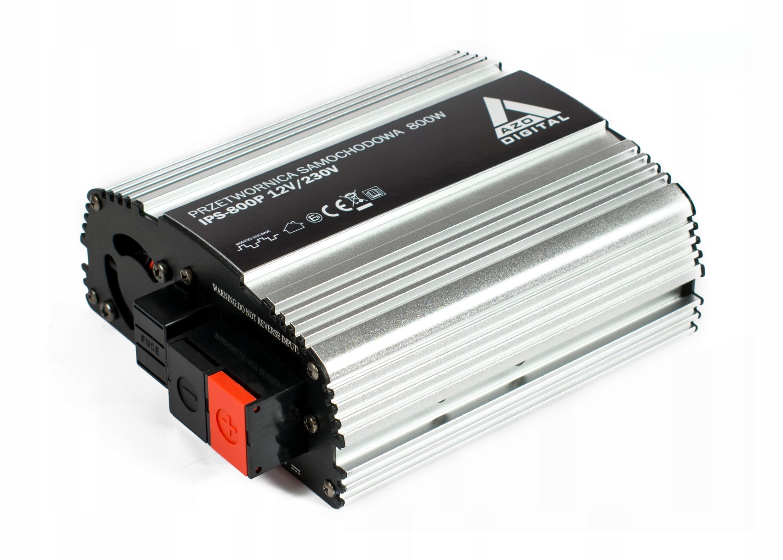 Prevodník napätia 12VDC / 230VAC IPS-800P 800W