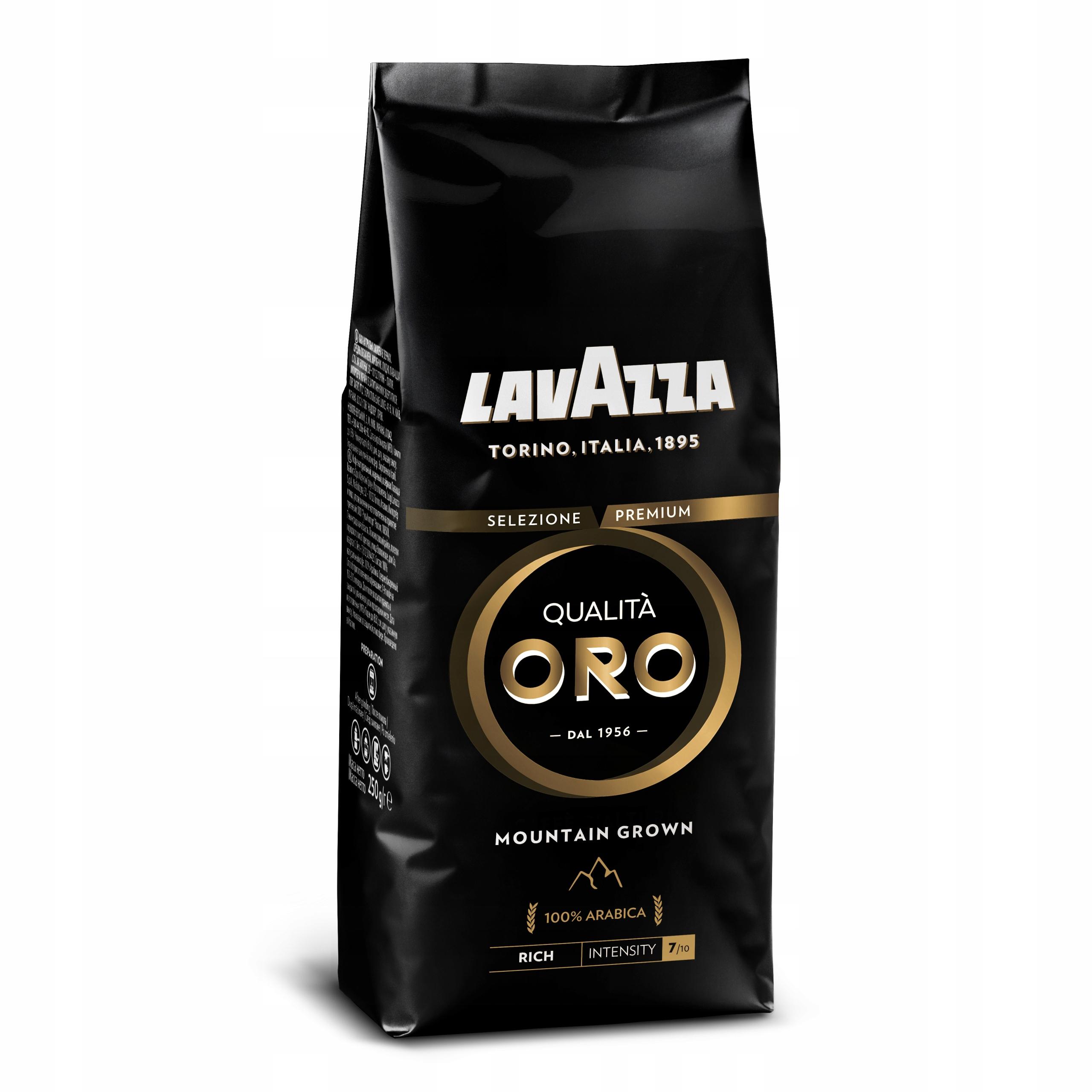 Купить Lavazza QUALITA ORO ГОРЫ GROWN насекомым Г ЗЕРНИСТАЯ на Eurozakup - цены и фото - доставка из Польши и стран Европы в Украину.