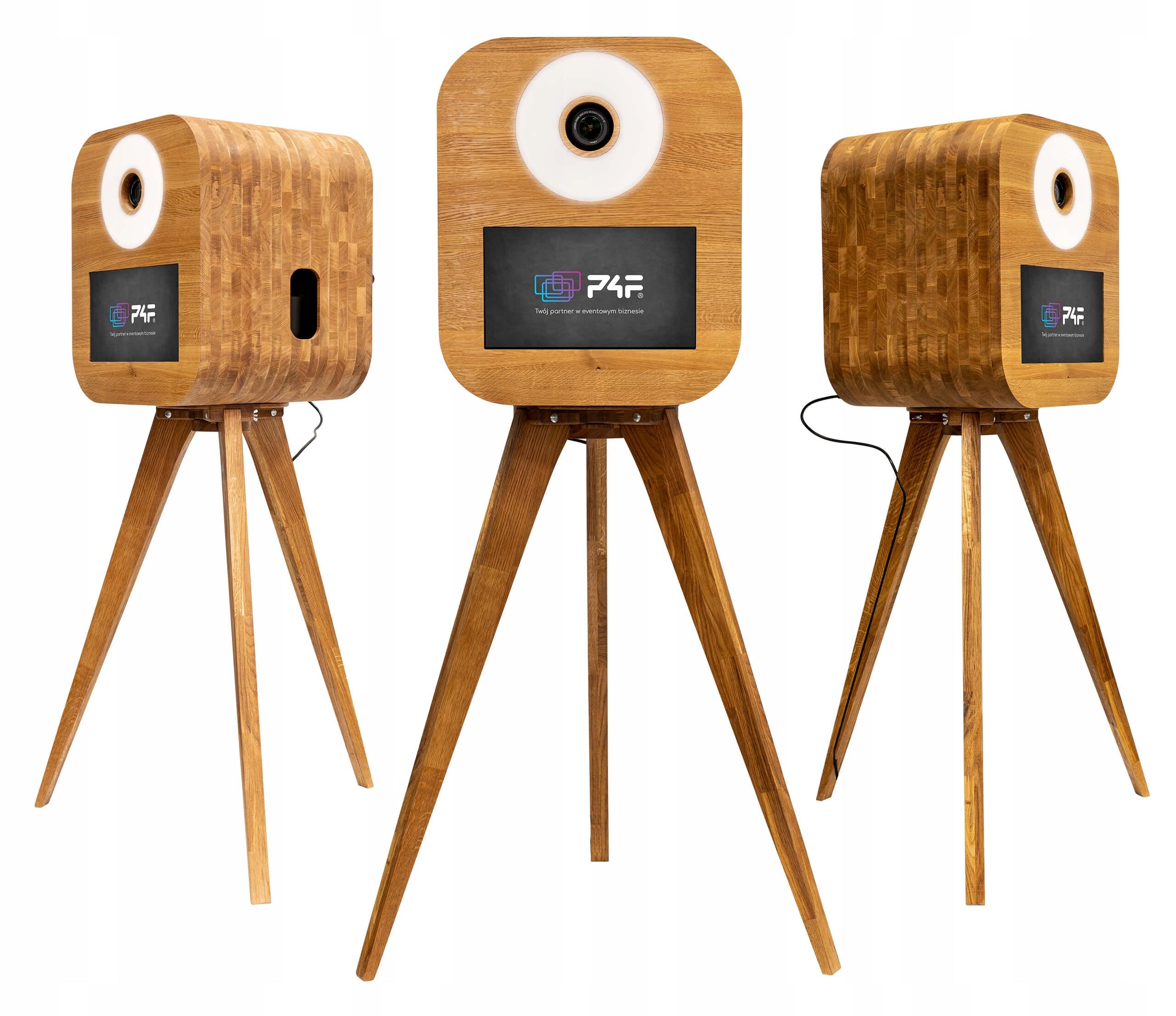 FOTO BOX P4F RETRO M retrobox vyrobený z dreva Full