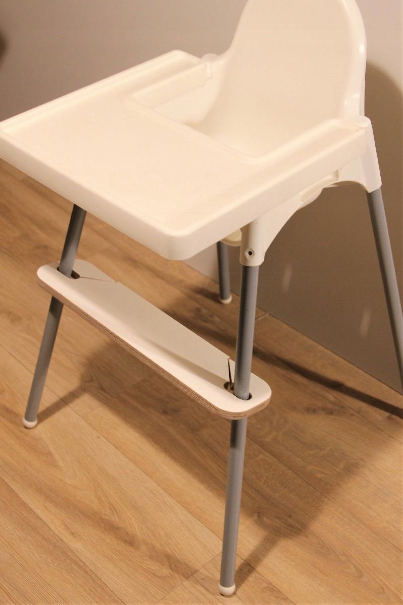 Regulowany podnóżek do krzesełka Ikea Antilop