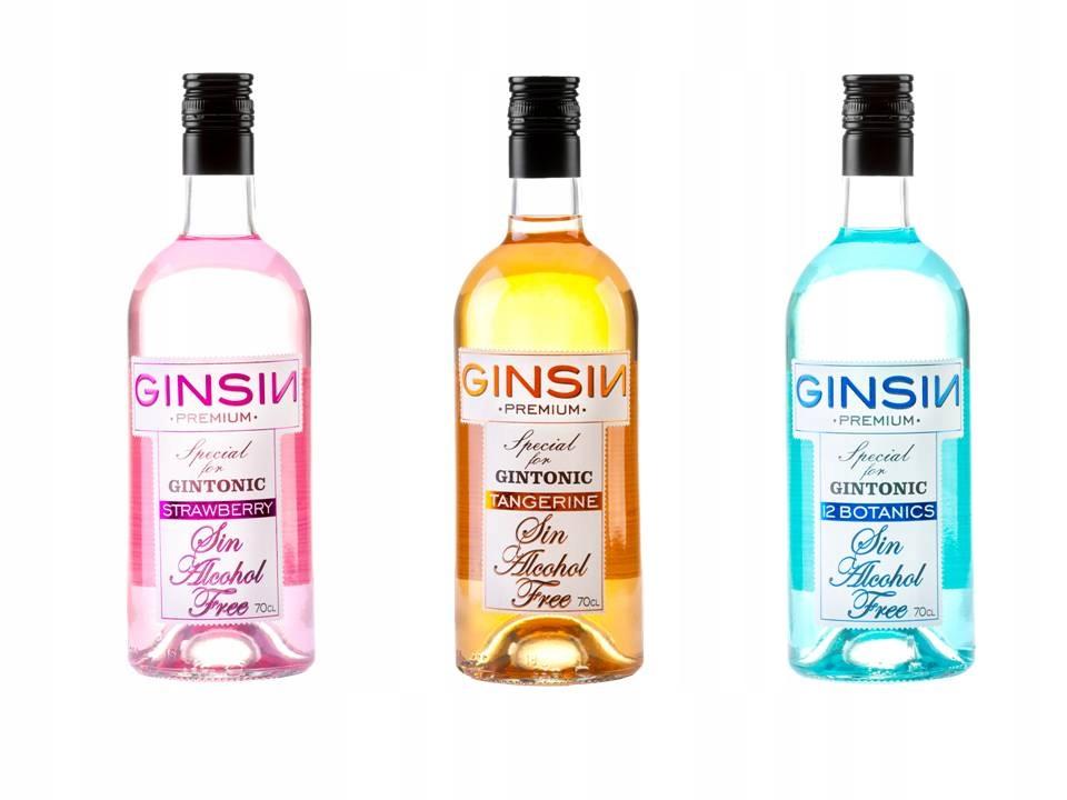 Gin nealkoholické 0% 3 druh