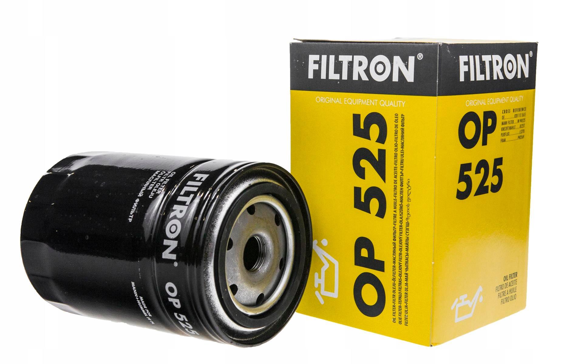 фильтр масла filtron кол-во в упак 525
