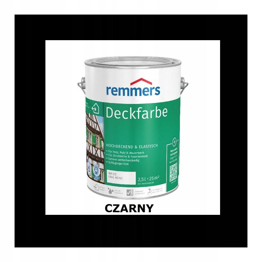 REMMERS DECKFARBE 2.5 l BLACK
