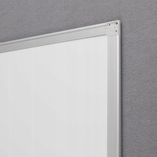 Biela magnetická doska na suché utieranie 90x60 Iná značka