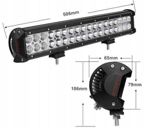 панель лампа led 126w прожектора галоген off road