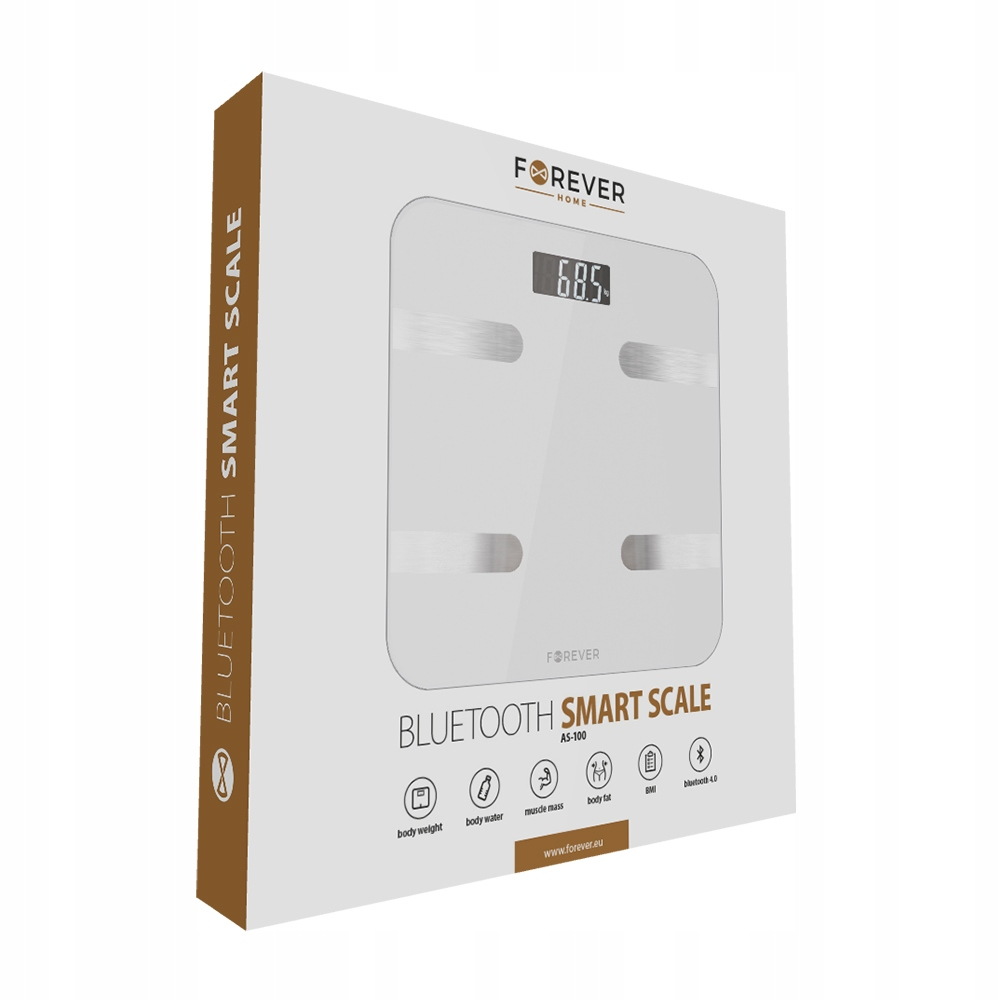 Forever Waga Bluetooth Smart Scale AS-100