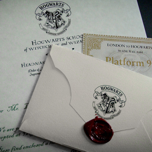 Item The letter from Hogwarts to YOU! freebie! Harry Potter