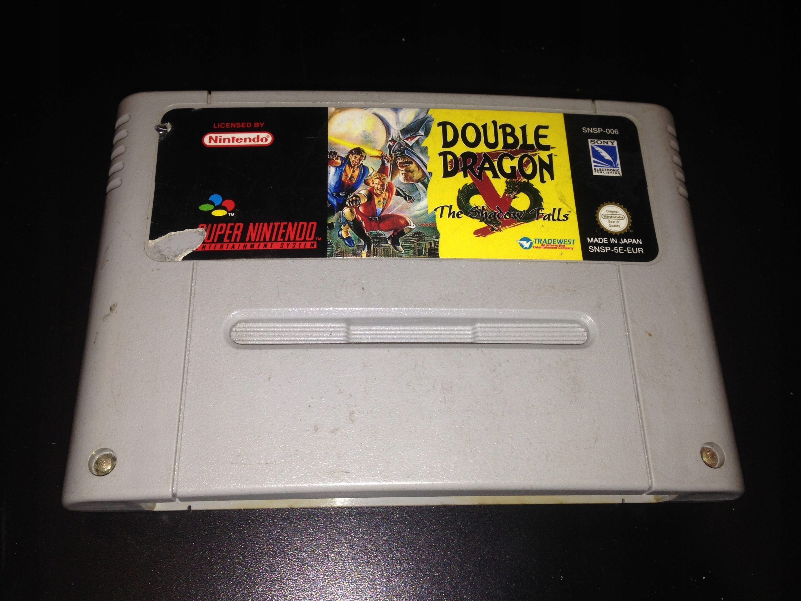 Double Dragon Tieň Padá SNES