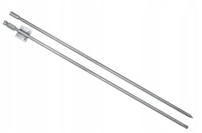 Pręt uziemiający uziom zestaw złacze wbijak 2x1,5m