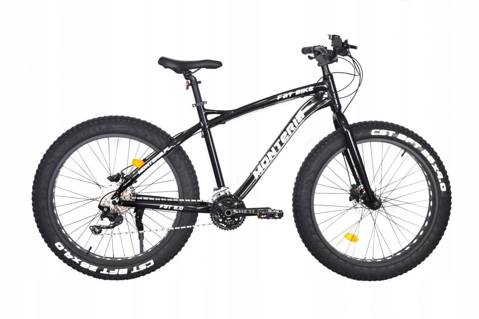 """Monteria 2.0 Tuku Bicykel 26"""" Black 17"""""""