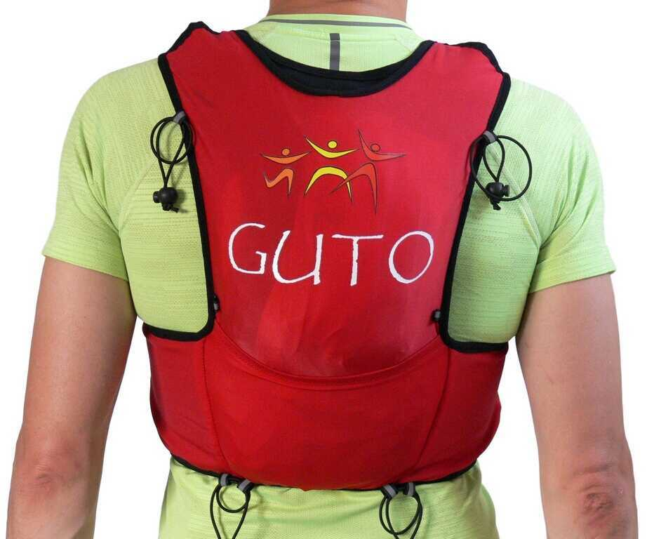 Rýchlosť vesta/batoh GUTO UltraFun červená, XS