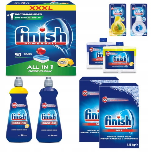 Finish Набор для Посудомоечной машины All in One XXL 9 шт