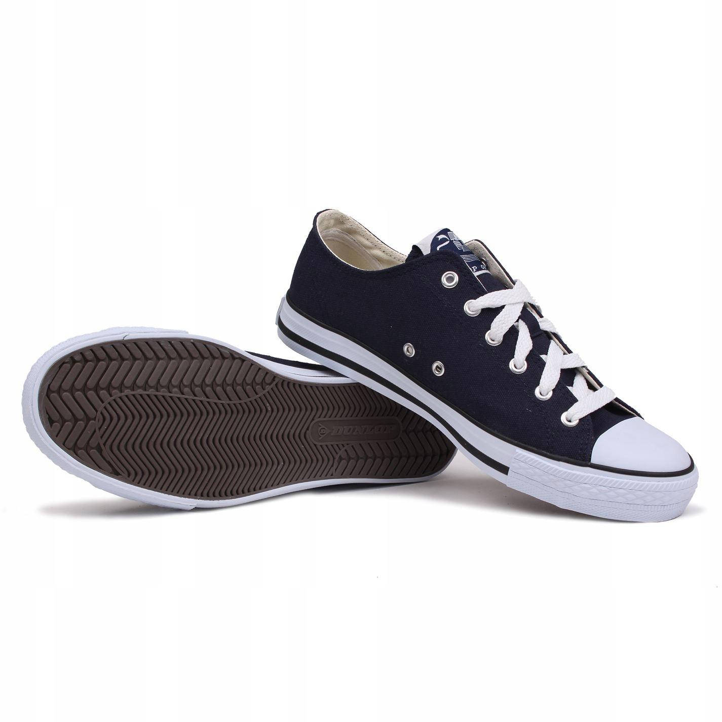 Trampki Dunlop markowe modne męskie niskie 42,5