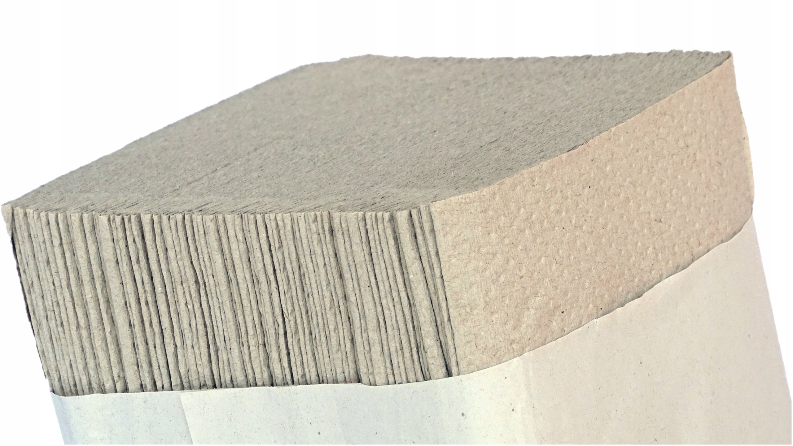 Полотенца бумажные складные ZZ 4000 шт СЕРЫЙ МОЩНОСТЬ