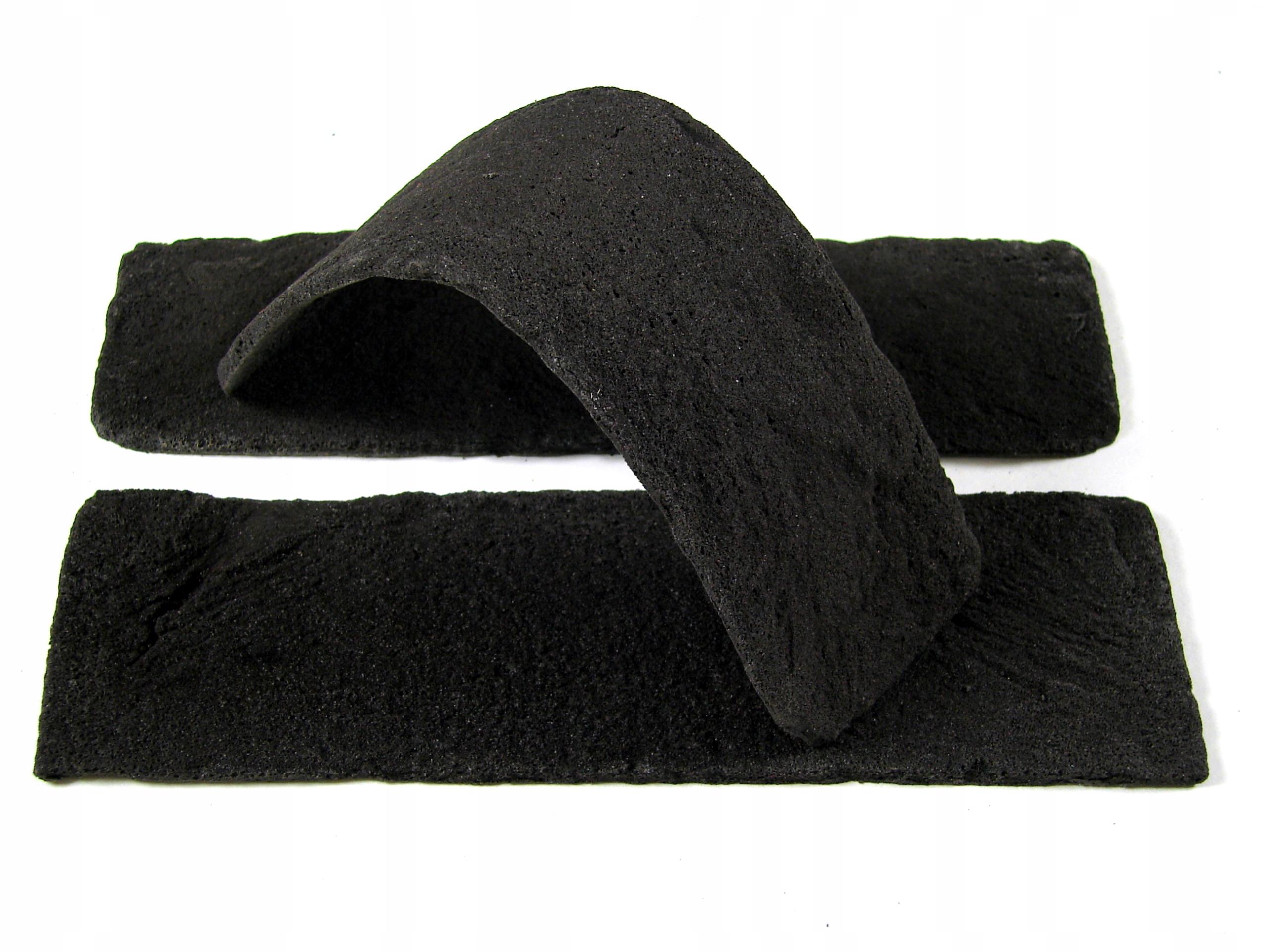 čierna tehla, obklad z imitácie tehál