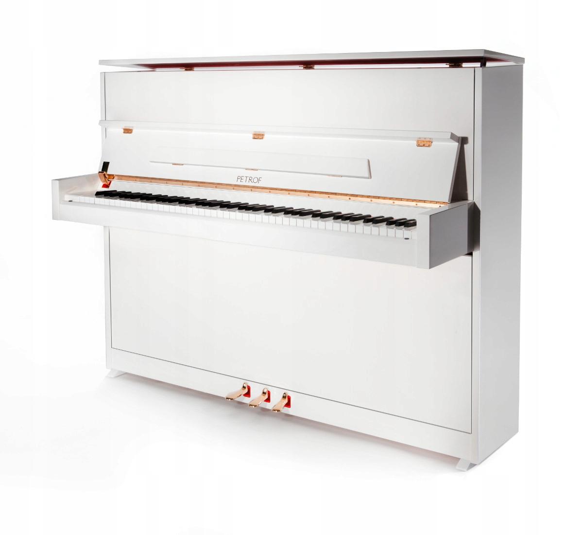 Biely Piano Petrof P 118 Špeciálne