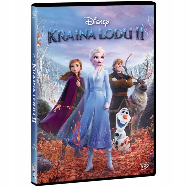 Kraina Lodu 2 Disney bajka DVD