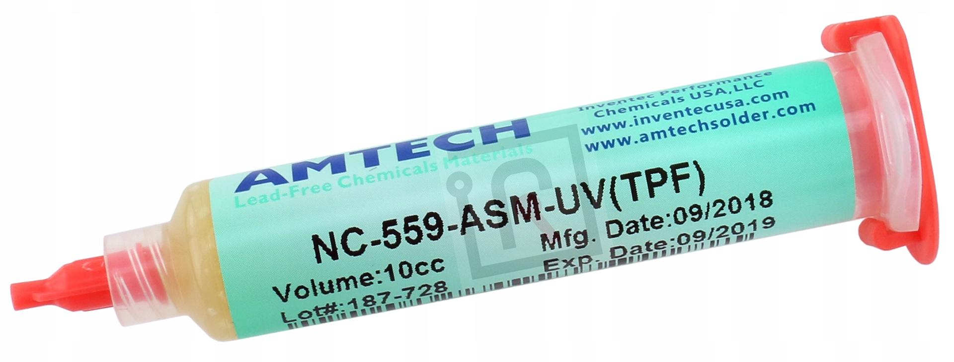 FLUX TOPNIK BGA SMD AMTECH NC-559-ASM-TPF(UV) 10g