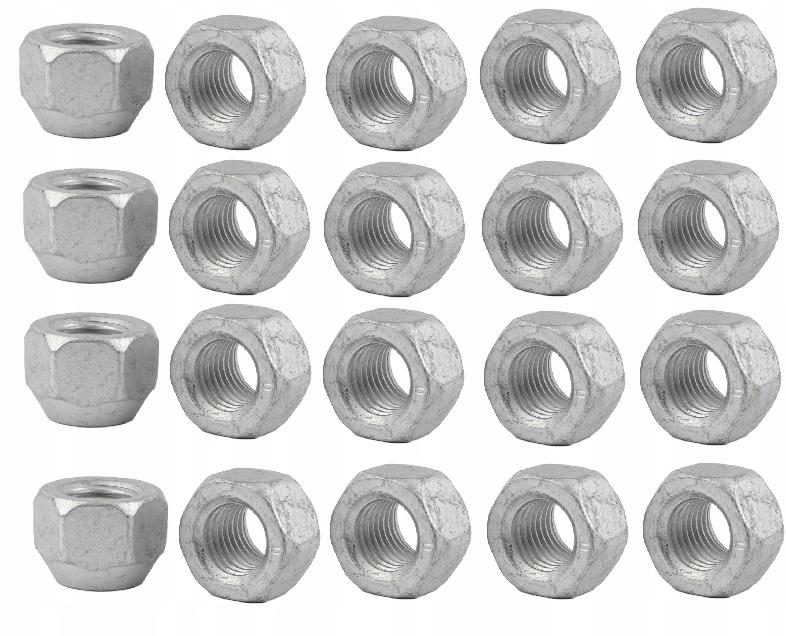 20 шт Гайки для стальных дисков Ford OEM TUV
