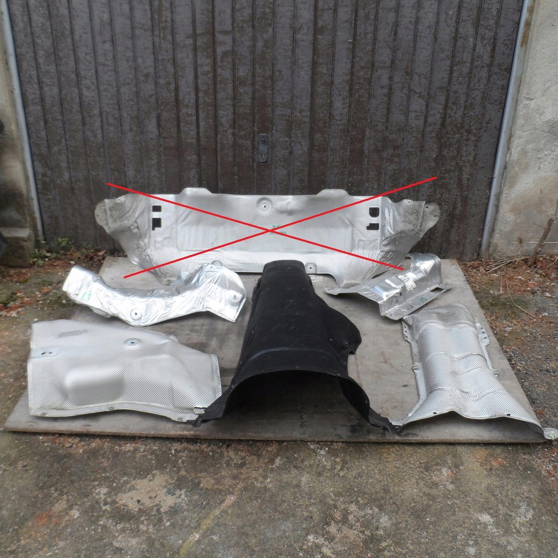 крышка термическая изоляция bmw x5 f15 15r