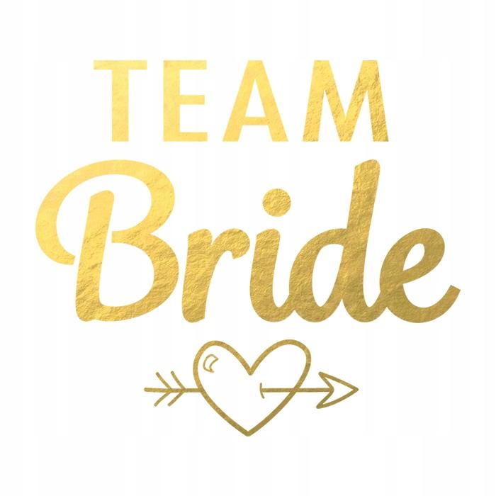 Item D03 TATTOO WASHABLE BACHELORETTE party TEAM BRIDE