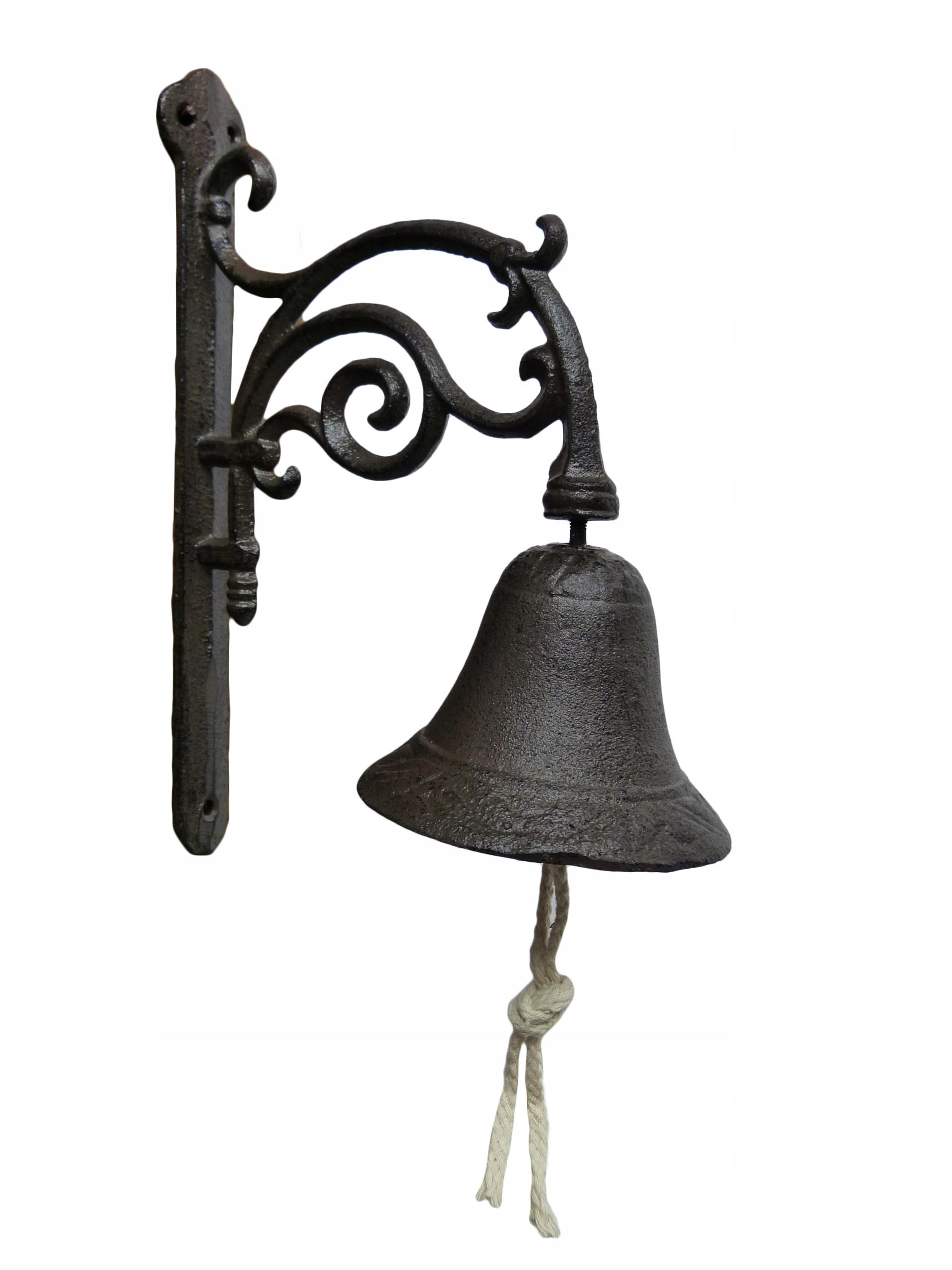 Zvonenie liate bronzové VEĽKÉ VINTAGE, dobrý zvuk