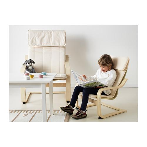 fotel dziecięcy poang ikea