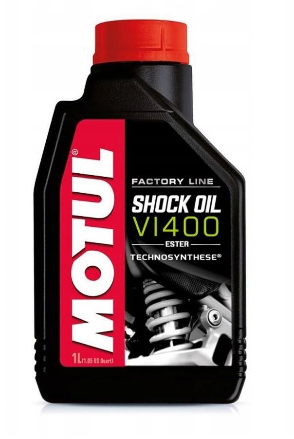 МАСЛО MOTUL FACTORY LINE SHOCK OIL VI 400 1Л