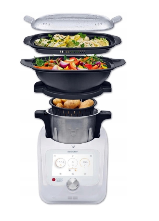 MONSIEUR CUISINE CONNECT Lidlomix Thermomix NOWY