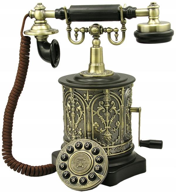 Štýlový Telefón Retro Castel