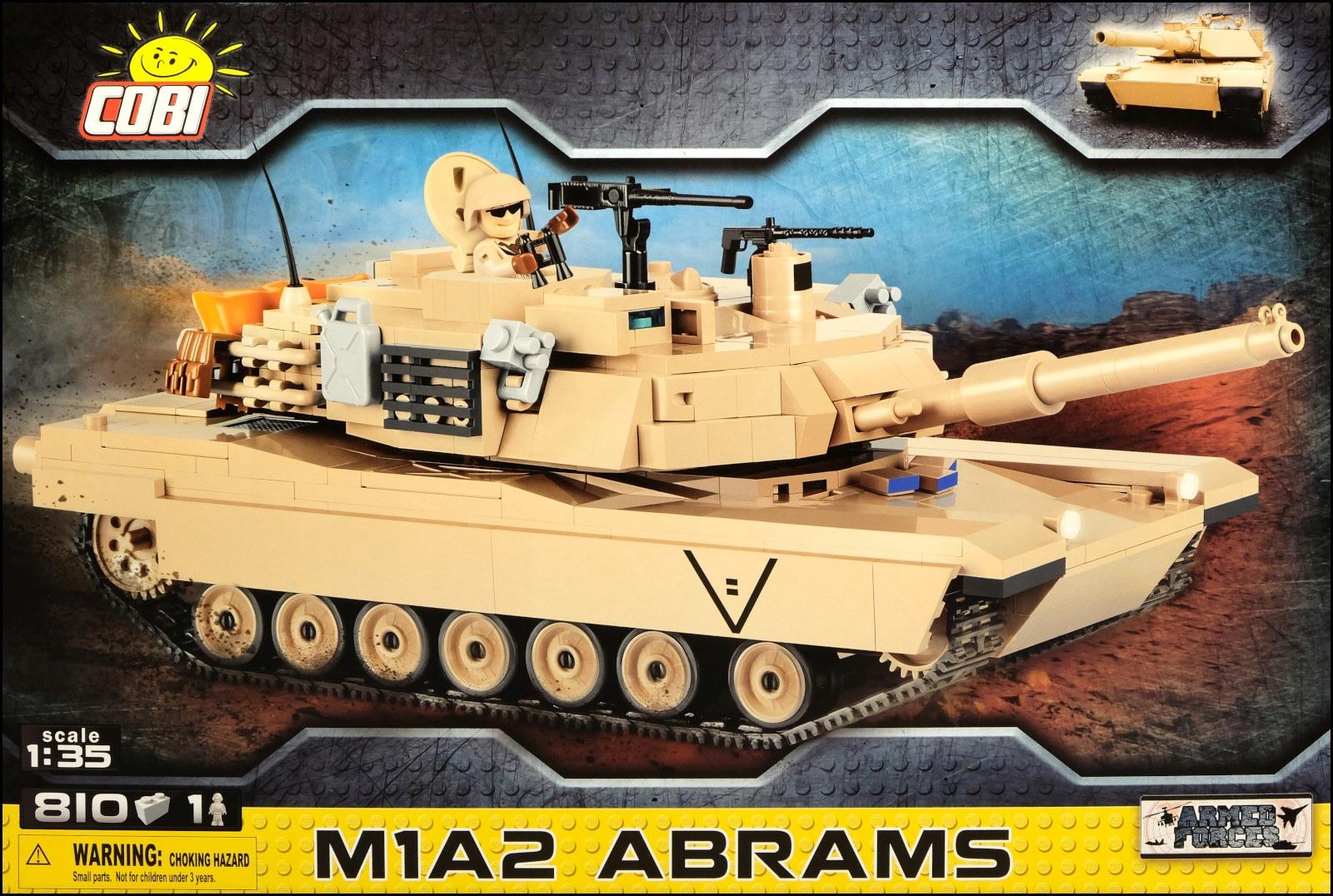 Nádrž COBI M1A2 Abrams (2619) - 810 ks.