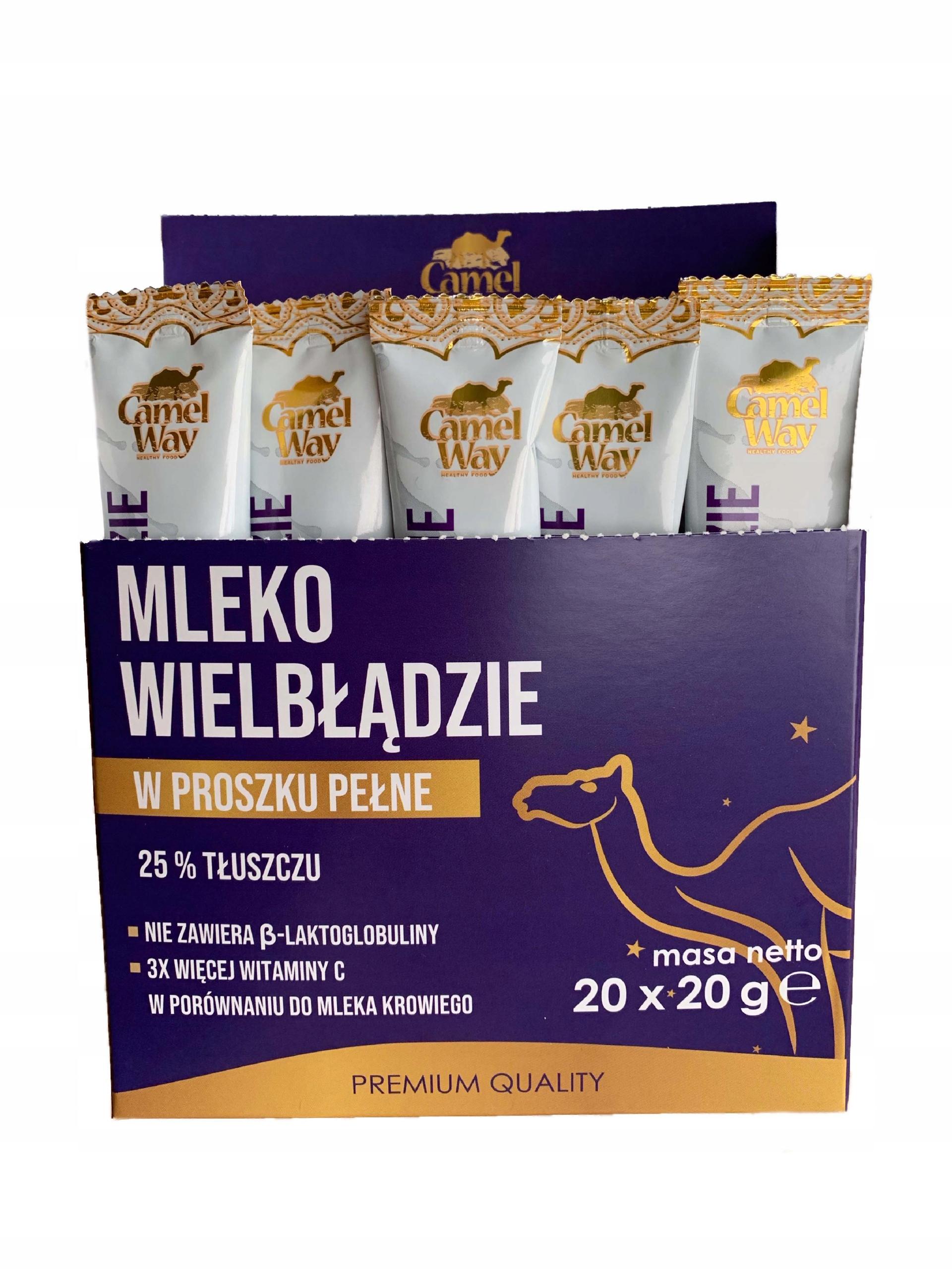 Ťavie mlieko dávke 20pc.x20g.