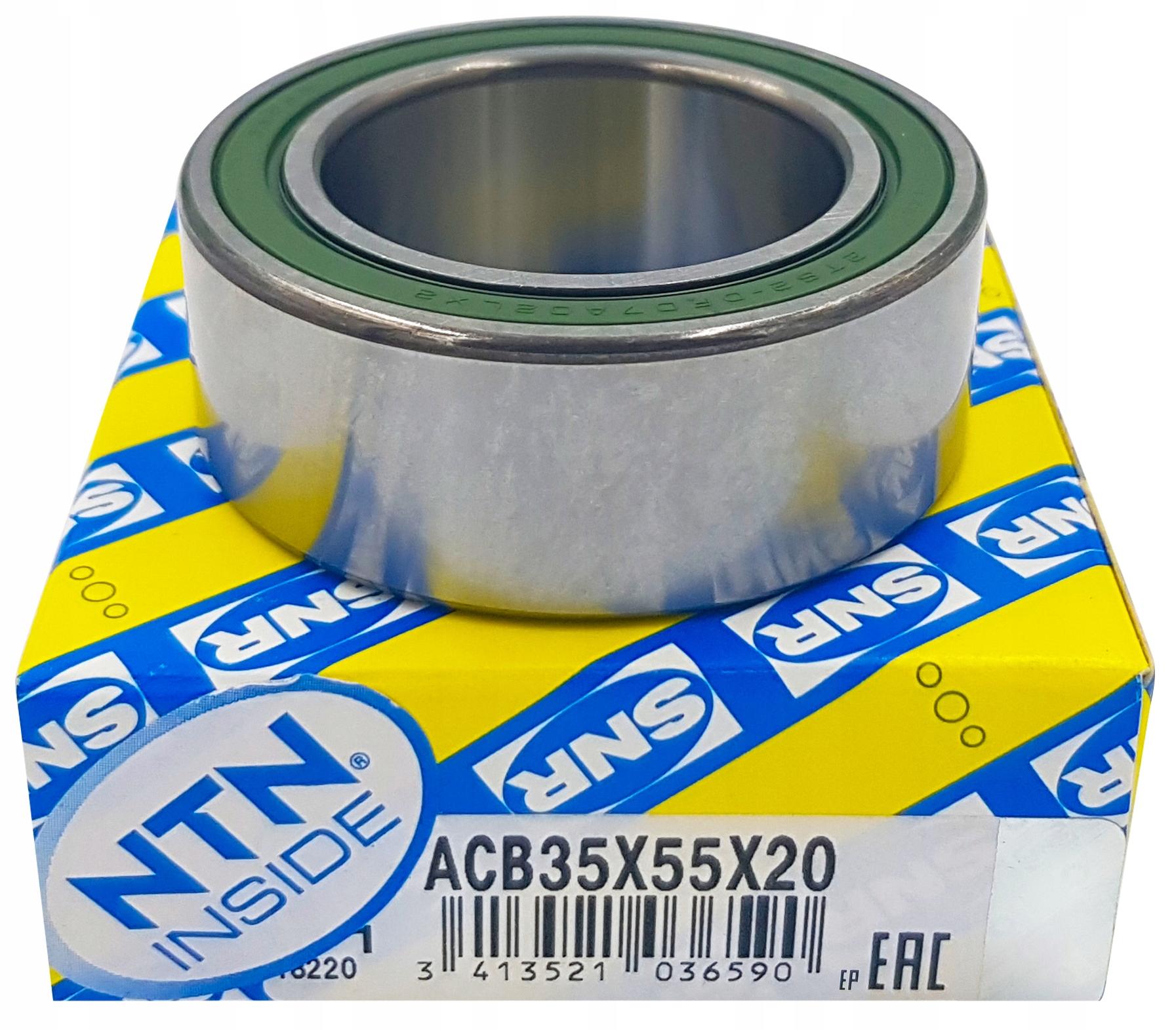 Подшипник компрессора кондиционирования воздуха snr acb35x55x20