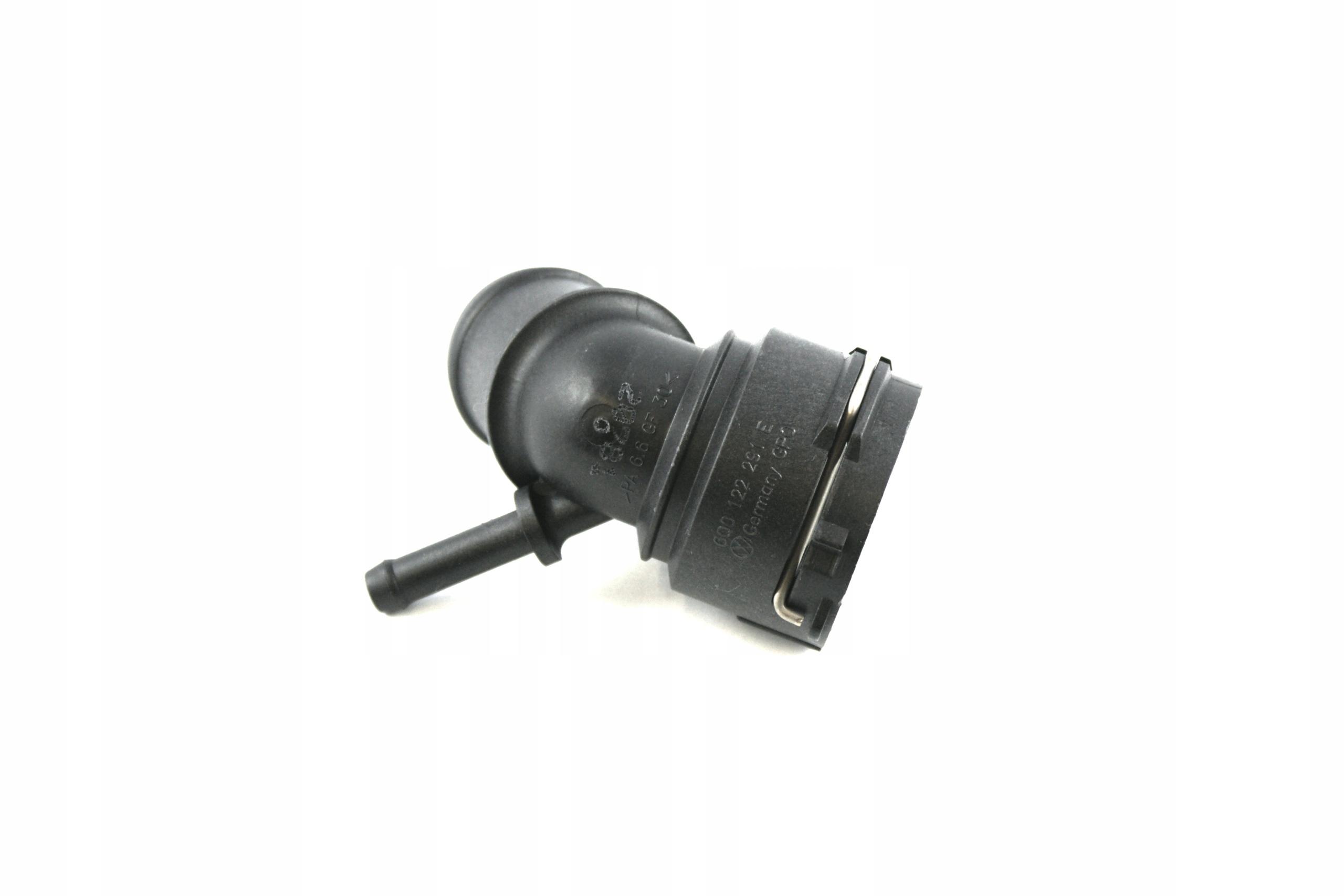 патрубок водный радиатора 6q0122291e оригинальный
