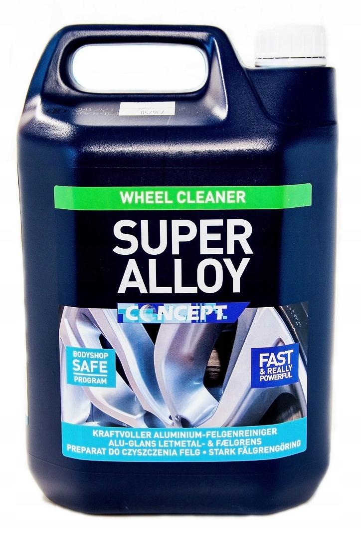 SUPER ALLOY CONCEPT чистка alu дисков 5Л