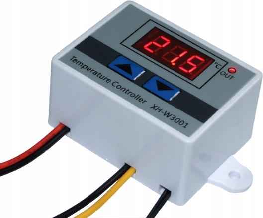 Sterownik Regulator temperatury 12V Termostat