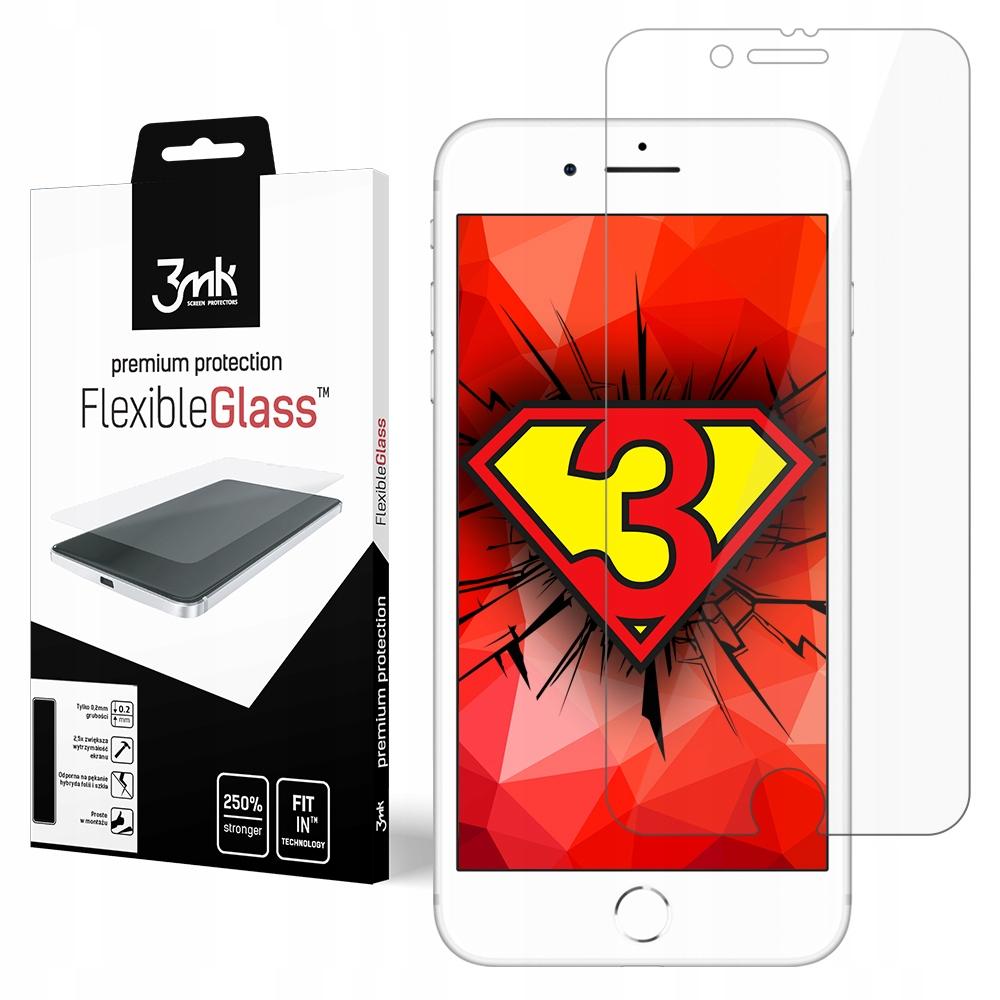 Apple iPhone 7 - 3mk FlexibleGlass - Hybryda szkło