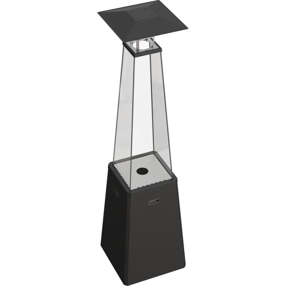 plynový ohrievač kúrenie dáždnik čierny UMBRELLA Hmotnosť 43 kg