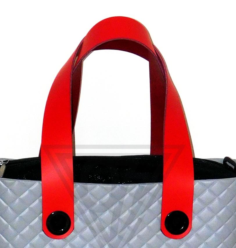 Obag O Bag Uchwyty Tunele 60cm Skóra Czerwony Inne